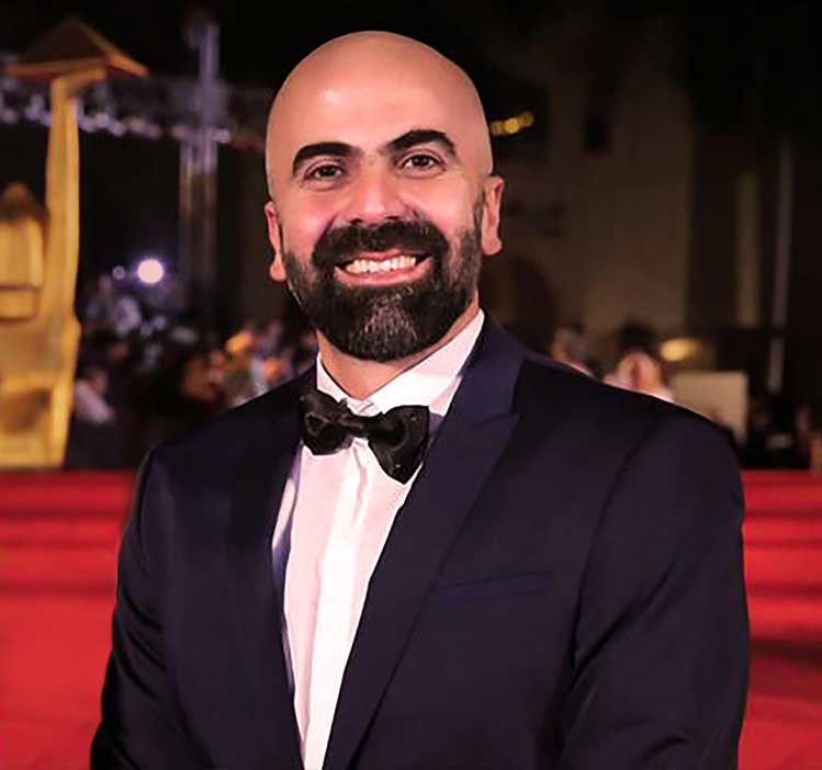 Alaa Karkouti CEO and Co-founder of MAD Solutions and Co-founder of the Arab Cinema Center (ACC)