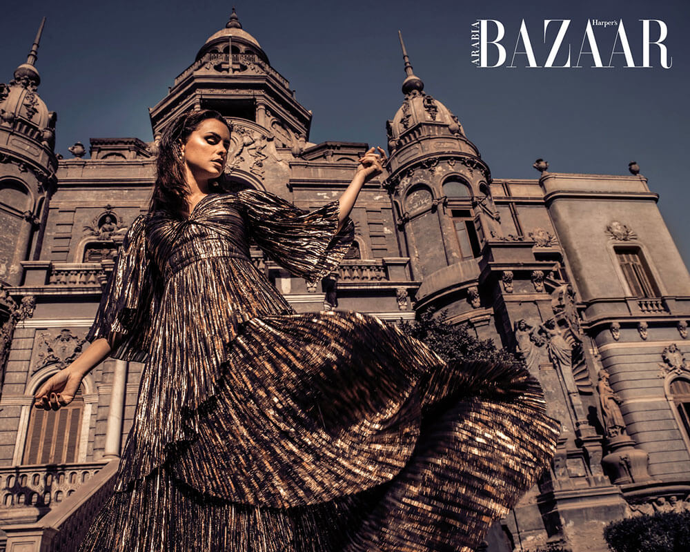 Harpers Bazaar Shoot