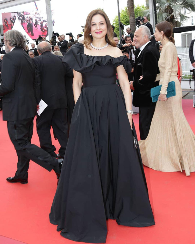 On Cannes 2019 Red Carpet