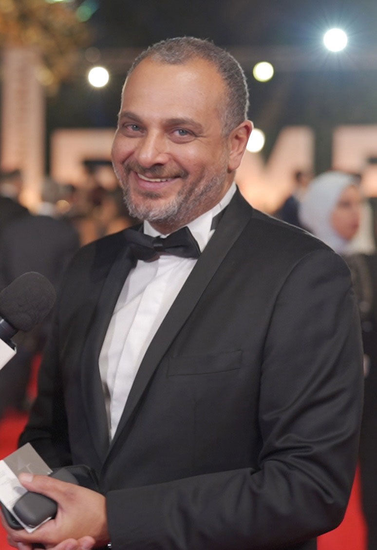 Tamer Mohsen at Cairo Film Festival 2019