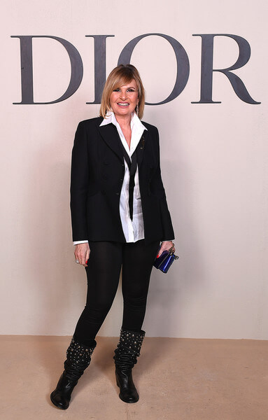 Yousra attends the Christian Dior Haute Couture Spring Summer 2019 Collection show at Safa Park on March 18, 2019 in Dubai, United Arab Emirates