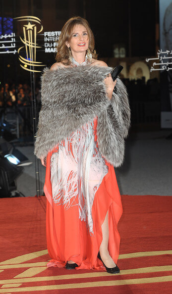 Yousra Un Balcon Sur La Mer Red Carpet - Marrakesh International Film Festival