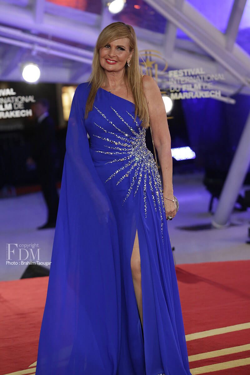Yousra at 17th Marrakech International Film Festival