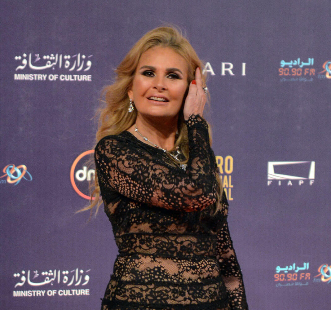 Yousra at the 39th Cairo International Film Festival  2017