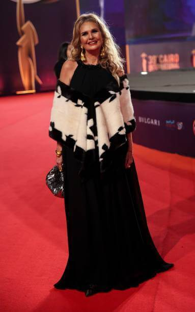 Yousra at the 39th Cairo International Film Festival