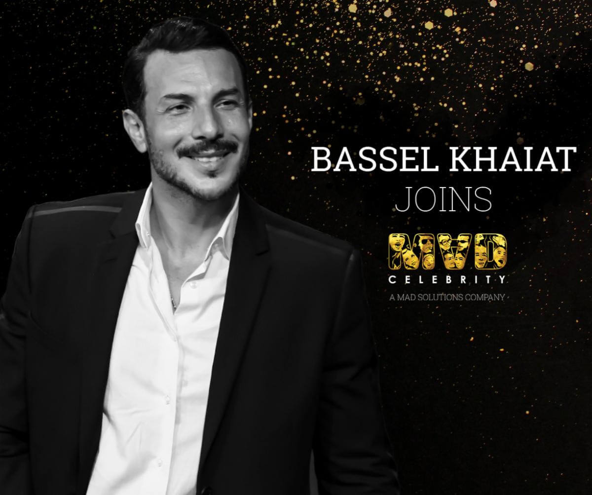Bassel Khaiat Officially Joins Mad Celebrity's Clientele